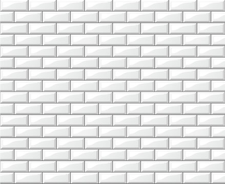 white tiles wall background design