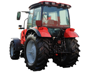 Image of a modern tractor.