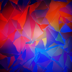 Abstract colorful blurred background. Vector illustration. Modern smartphone wallpaper