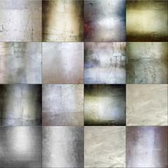 seamless metal tiles background