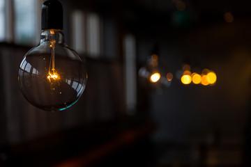лампа накаливания в интерьере