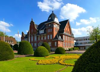 Rathaus in Papenburg, Klein-Venedig des Nordens