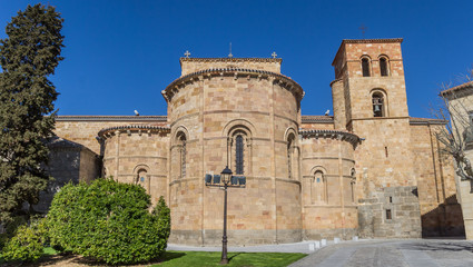 St. Peters church in the center of Avila, Spain