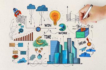 Plan and seminar concept