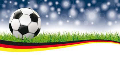 Fußball Deutschland Banner