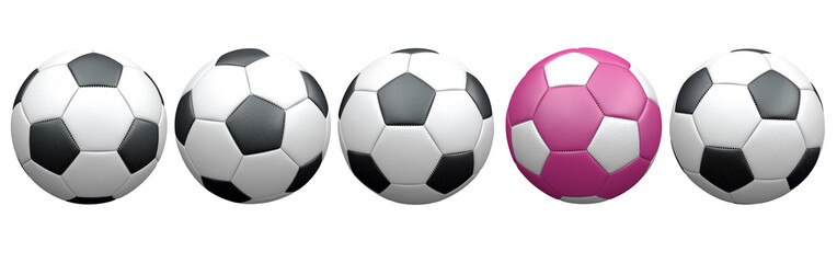 Set Classic and Pink Football