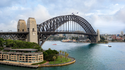 Canvas Prints Sydney Sydney Harbour Bridge, Australia (100MP, Ultra High Resolution)