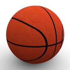 3d image. Basketball ball.