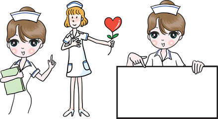 nurse and cook
