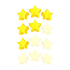 glassy stars, ranking game elements