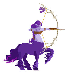 purple huntress dryad centaur