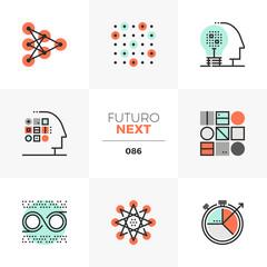 Machine Learning Futuro Next Icons