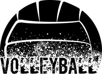 Volleyball Grunge