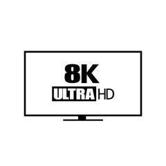 8k ultra hd vector