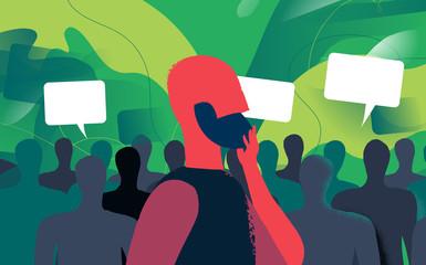 Opinioni domande e umore della popolazione