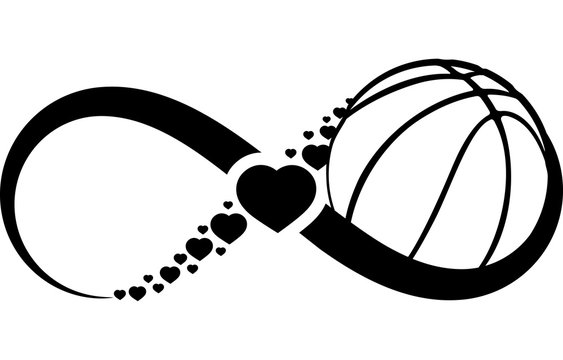 Basketball Love Infinity