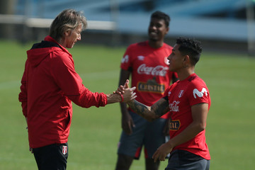 World Cup 2018 - Peru's national soccer team training