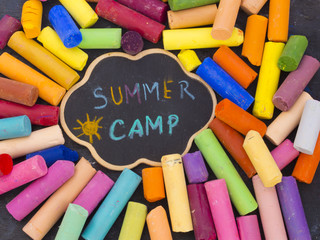summer camp concept