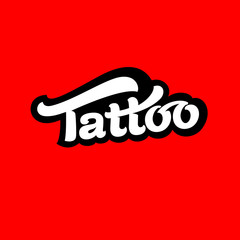 Logo tattoo vector image.