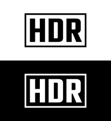 High dynamic range symbol, mark for wide range color display