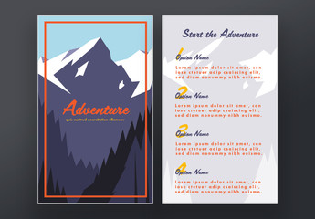 Travel Poster Layout