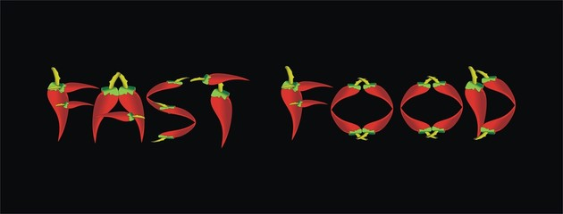 fast food - mexico-Chili pepper
