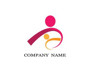 Community care vector icon illustration design