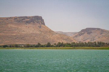 The Coast of the Sea of Galilee, Israel