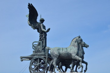 Quadriga of Victory at Victor Emmanuel in Rome