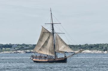 Tall Ship in Newport, Rhode Island
