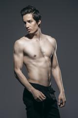 man with slender body