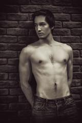 sexy shirtless guy