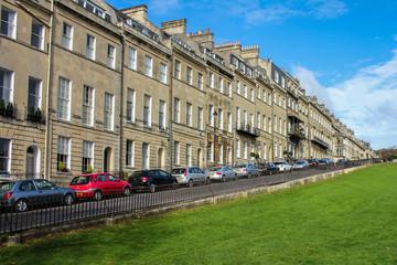 Row of Houses in Bath UK