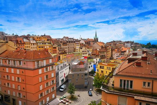 Lausanne city in Switzerland Swiss