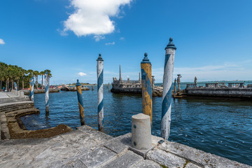 Outside of the Vizcaya Museum & Gardens