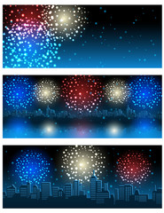 fireworks banners