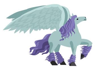 beautiful winged pegasus