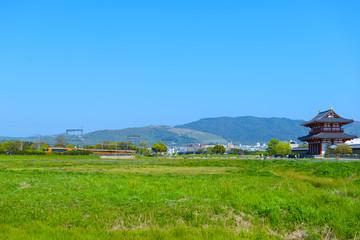 奈良平城宮跡の風景