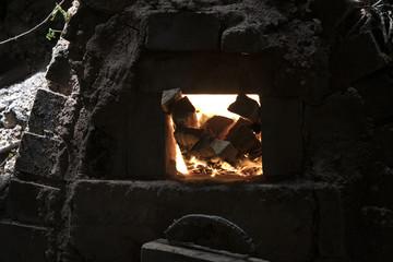 窯口の風景