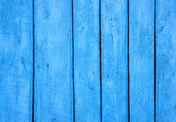 abstract background with wooden wall painted in blue