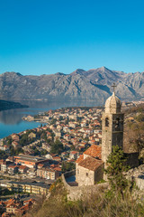 Old city of Kotor Montenegro