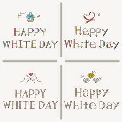 Happy White Day 手書きフォント