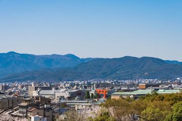 京都の春の風景 京都 日本