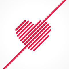 carte coeur
