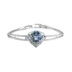 Fashion diamond bracelet isolated on white