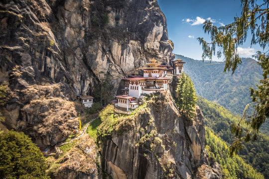 Taksang tigers nest in Bhutan