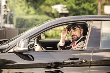 Travelling businessman