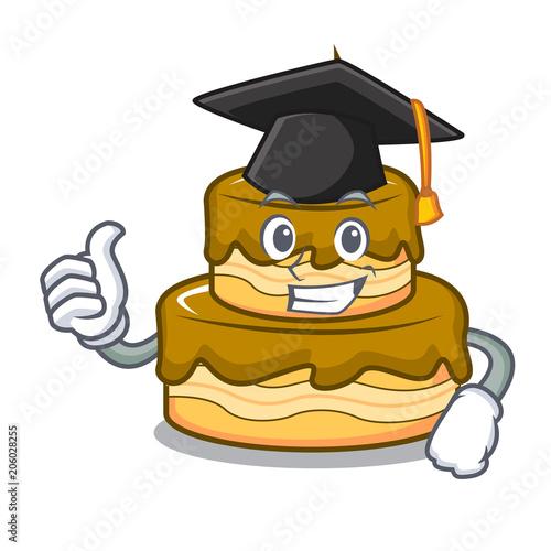 Graduation Birthday Cake Character Cartoon