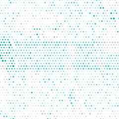 Multi colored vector geometrical circle abstract background. Dotted texture template. Geometric pattern in halftone style