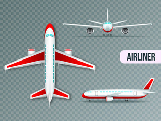 Airliner Views Realistic Set